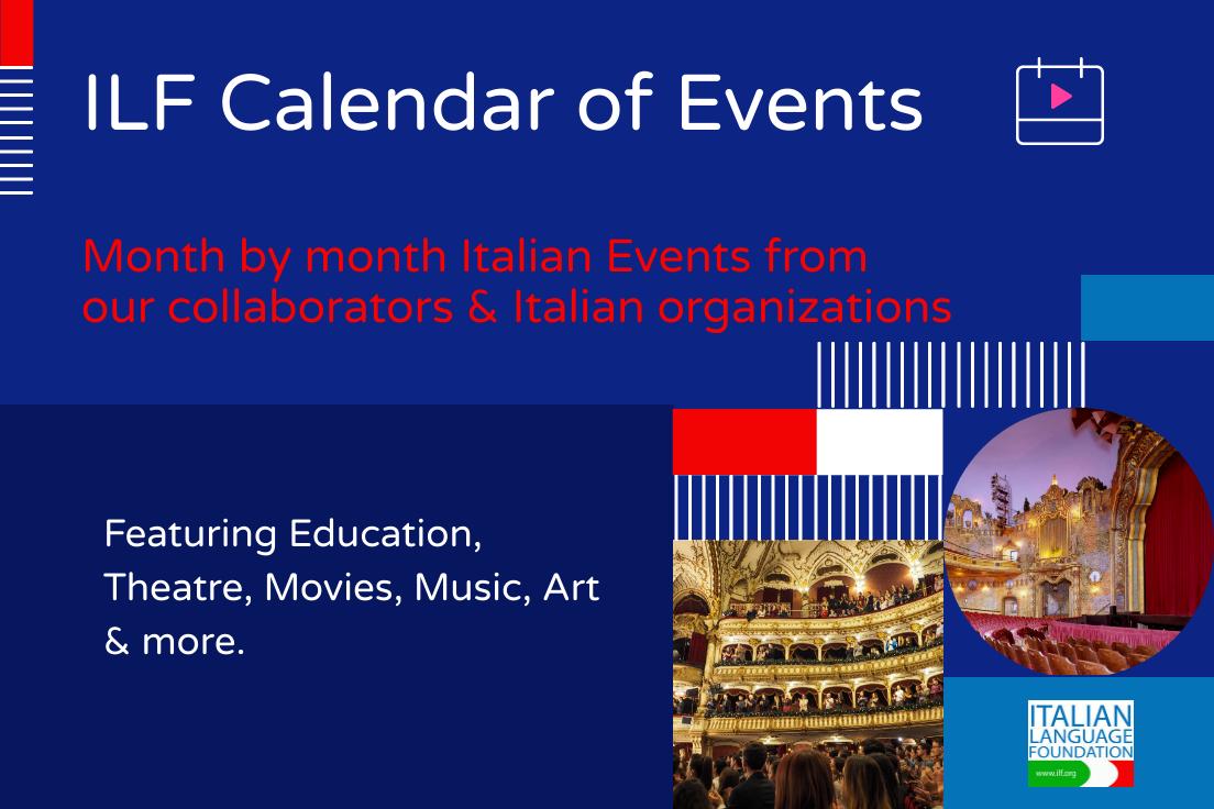 ILF Calendar of Events